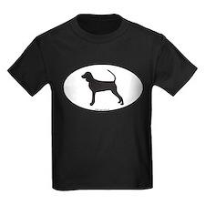 BT Coonhound Silhouette T