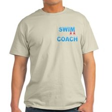 Swim Coach Blue T-Shirt