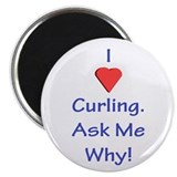 Magnet: I Heart Curling