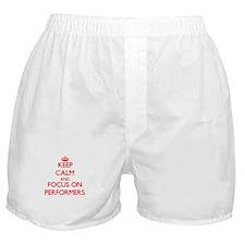 Cute Acrobats Boxer Shorts