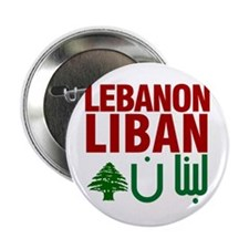 """Lebanon Liban Libnan   2.25"""" Button (100 pack)"""