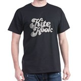 Kite Kook - Grey - Distressed -   T-Shirt