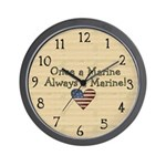 Once a Marine Clock