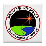Missile Defense Tile Coaster