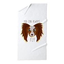 Papillion Fly Beach Towel