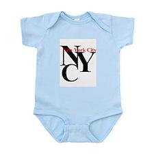 NYC New York Infant Creeper