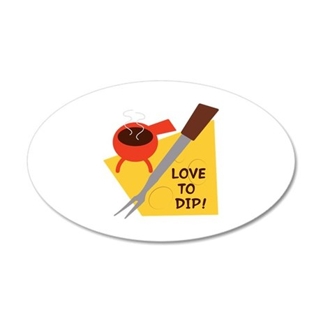 Love To Dip Wall Decal