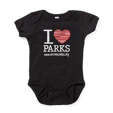 I Heart Parks Baby Bodysuit