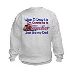 When I Grow Up Trucker Sweatshirt