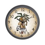 Monkey & Friends Clock