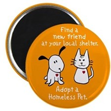 Find a New Friend Magnet