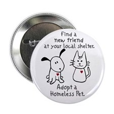 "Find a New Friend 2.25"" Button (10 pack)"