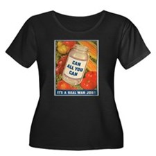 ragcanallyoucanwarjob Plus Size T-Shirt