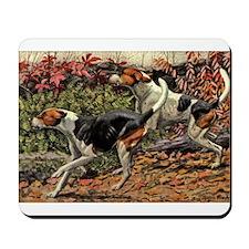 American Foxhound Art Mousepad