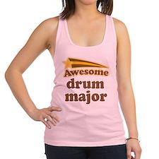 Drum Major vintage music Racerback Tank Top