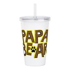 PAPA BEAR Acrylic Double-wall Tumbler