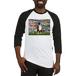 Lilies2-Tri Aussie Shep2 Baseball Jersey