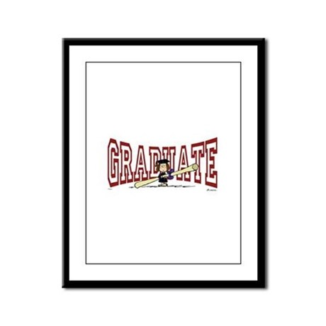 Graduate Framed Panel Print