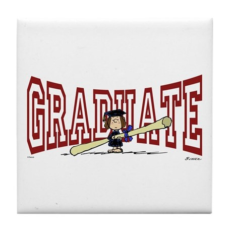 Graduate Tile Coaster