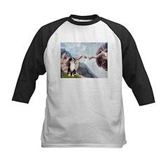 Creation - Australian Shep2 Kids Baseball Jersey