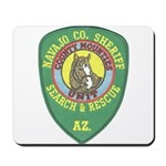 Navajo County Search & Rescue Mousepad