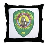 Navajo County Search & Rescue Throw Pillow