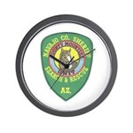 Navajo County Search & Rescue Wall Clock