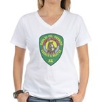 Navajo County Search & Rescue Women's V-Neck T-Shi