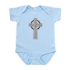 Celtic Knotwork Cross Infant Bodysuit