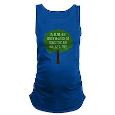 Bridesmaids Tree Maternity Tank Top