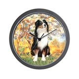 Spring - Tri Aussie 2 Wall Clock