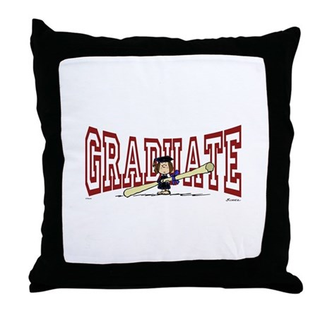 Graduate Throw Pillow