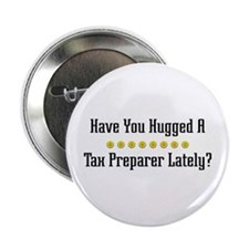 Hugged Tax Preparer Button