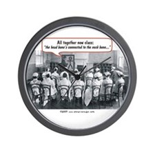 All Together Now Nurses Wall Clock