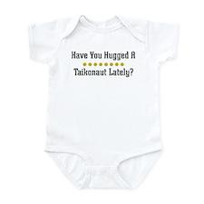 Hugged Taikonaut Infant Bodysuit