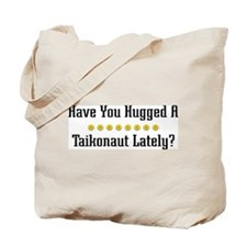 Hugged Taikonaut Tote Bag