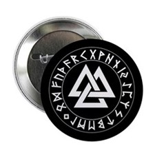 Triple Triangle Rune Shield Button