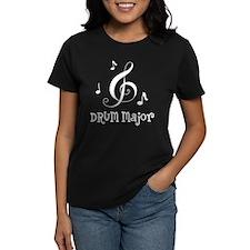 Drum Major Marching Band Women's Dark T-Shirt