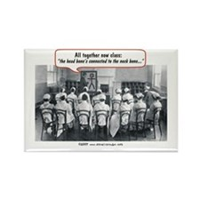 All Together Now Nurses Rectangle Magnet (10 pack)