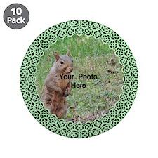 """Celtic Knot Photo Trim 3.5"""" Button (10 pack)"""