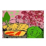 Plants and Fish Bowl Postcards (Package of 8)