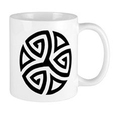 Celtic Trinity Design Circle Mug