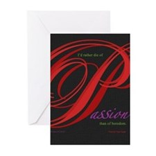 Passion Greeting Cards
