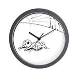 Urban Scrawl Wall Clock