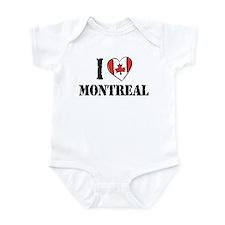 I Love Montreal Onesie
