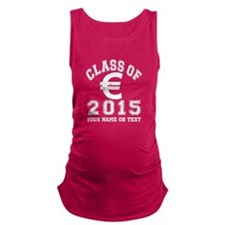 Class Of 2015 Finance Maternity Tank Top