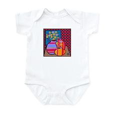 still life/flowers Infant Bodysuit