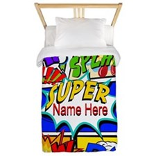 Superhero Comic Book Twin Duvet