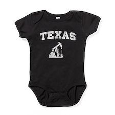 Texas oil Baby Bodysuit