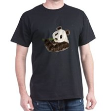 Watercolor Panda Asian Bear T-Shirt